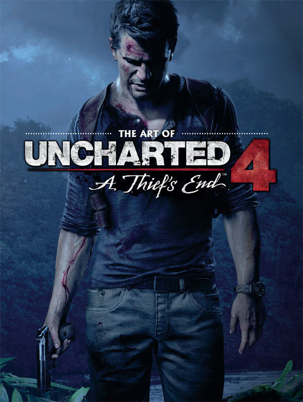 ART OF UNCHARTED 4 HC A THIEFS END