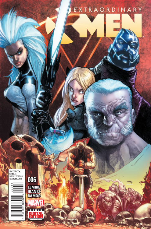 EXTRAORDINARY X-MEN #6