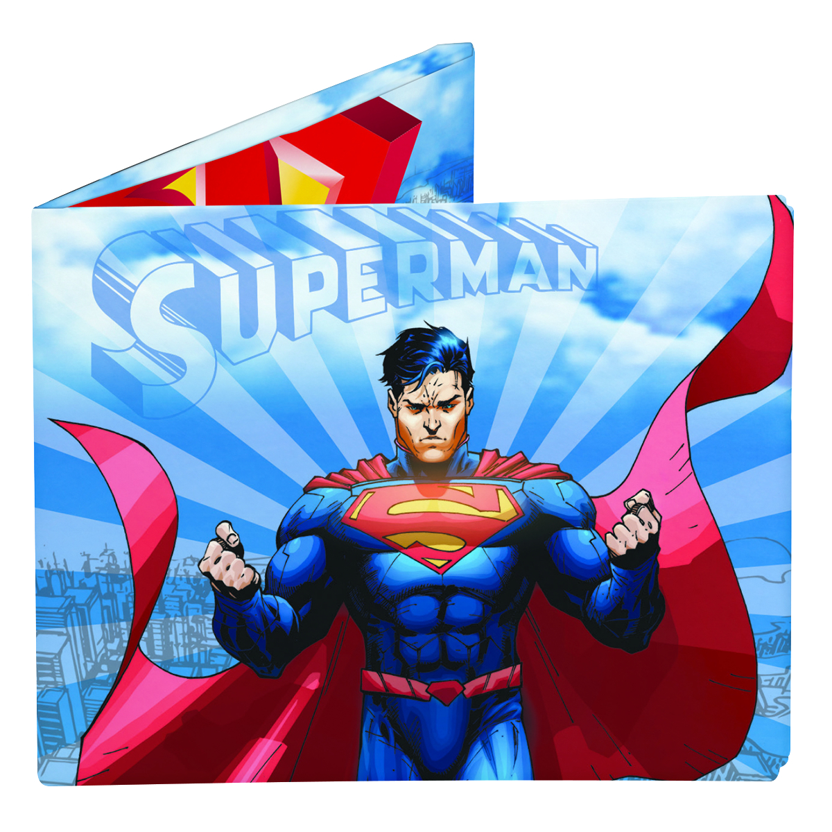 SUPERMAN IN FLIGHT MIGHTY WALLET