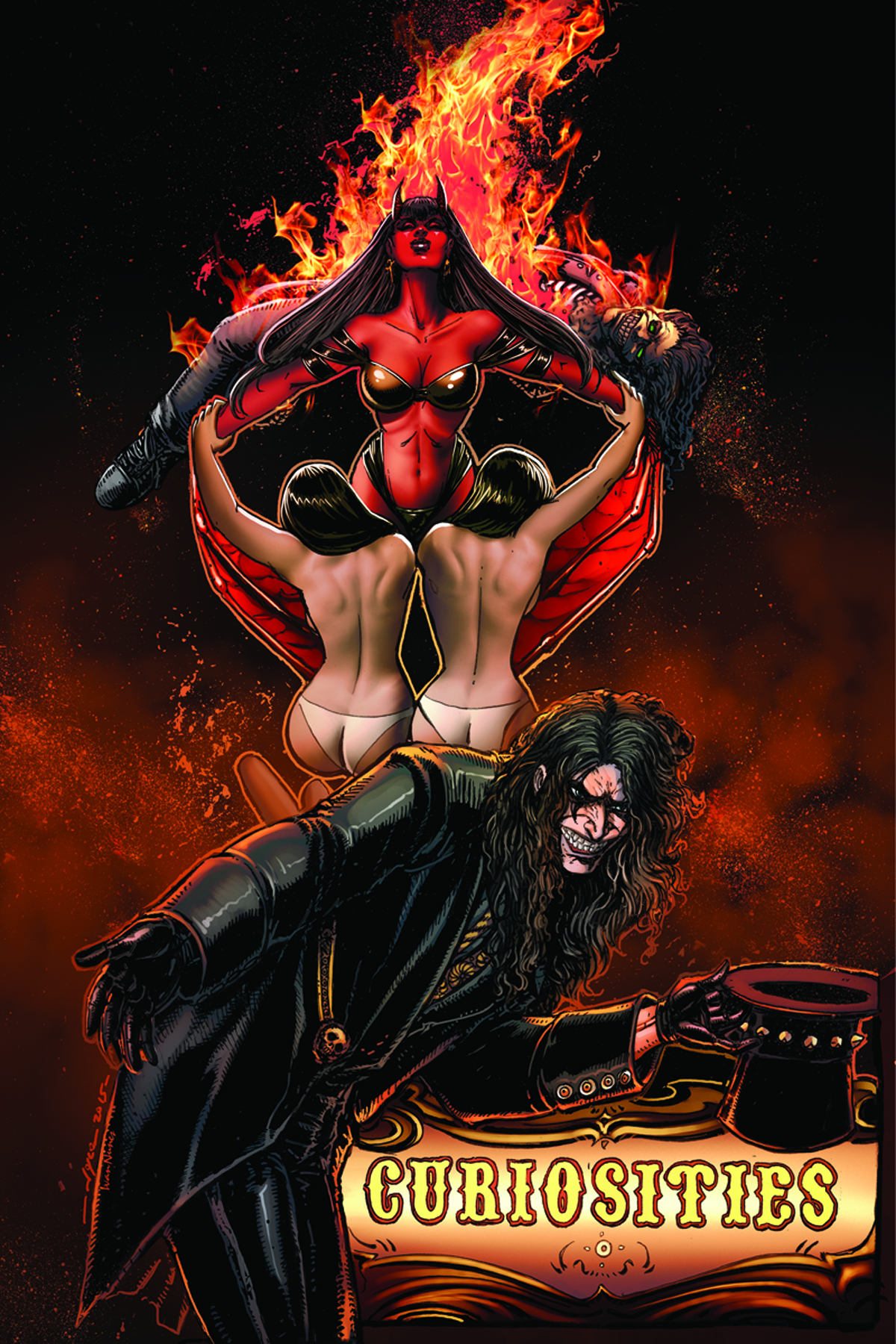 ALICE COOPER VS CHAOS #5