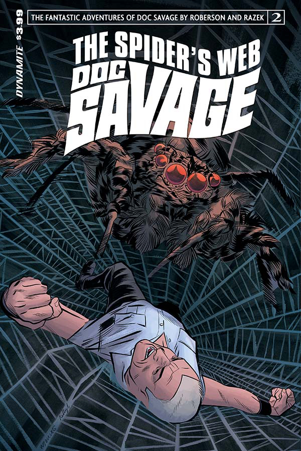 DOC SAVAGE SPIDERS WEB #2 CVR A TORRES