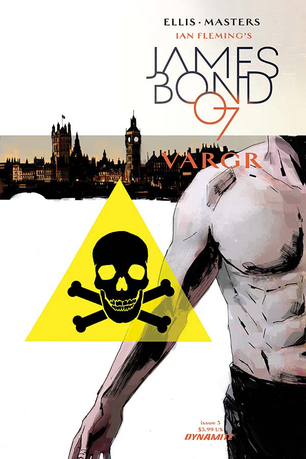 JAMES BOND #3 CVR A REARDON