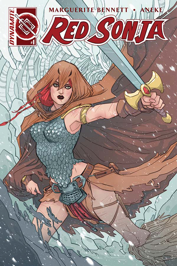 RED SONJA VOL 3 #1 CVR A SAUVAGE