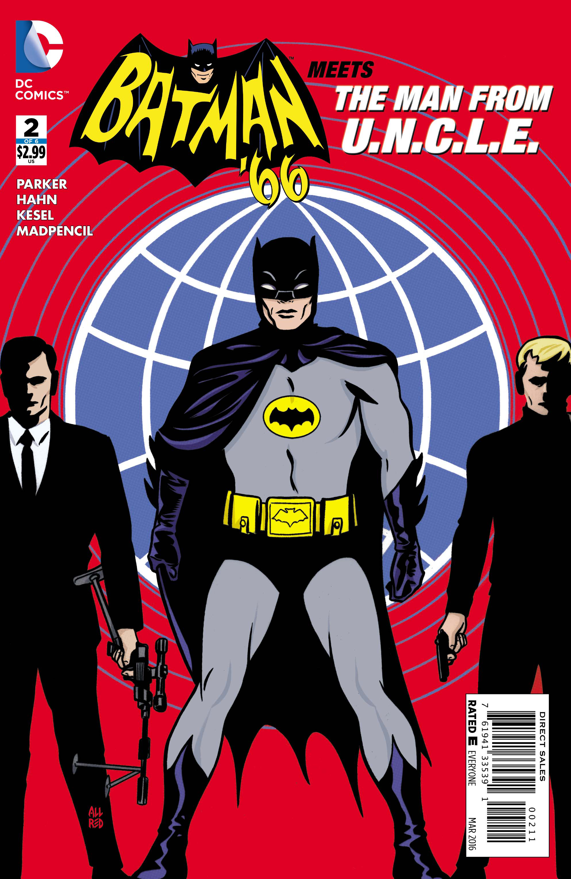 BATMAN 66 MEETS THE MAN FROM UNCLE #2