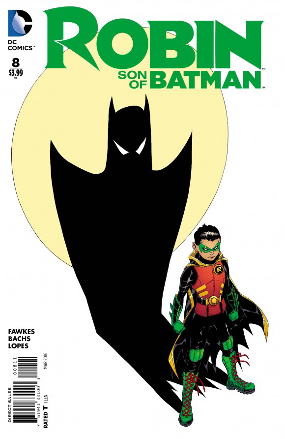 NOV150242 - ROBIN SON OF BATMAN #8 - Previews World