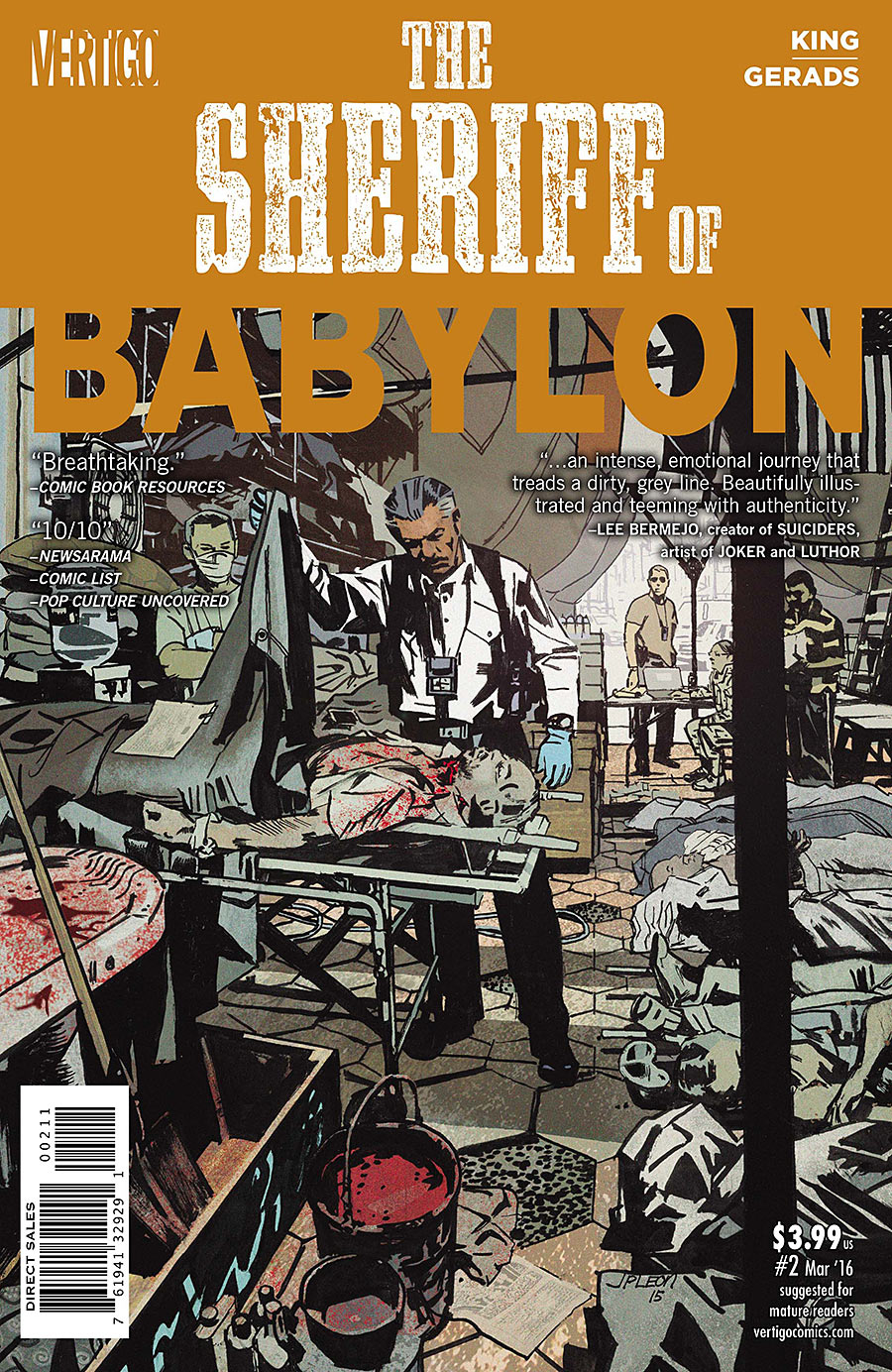 SHERIFF OF BABYLON #2 (OF 8)