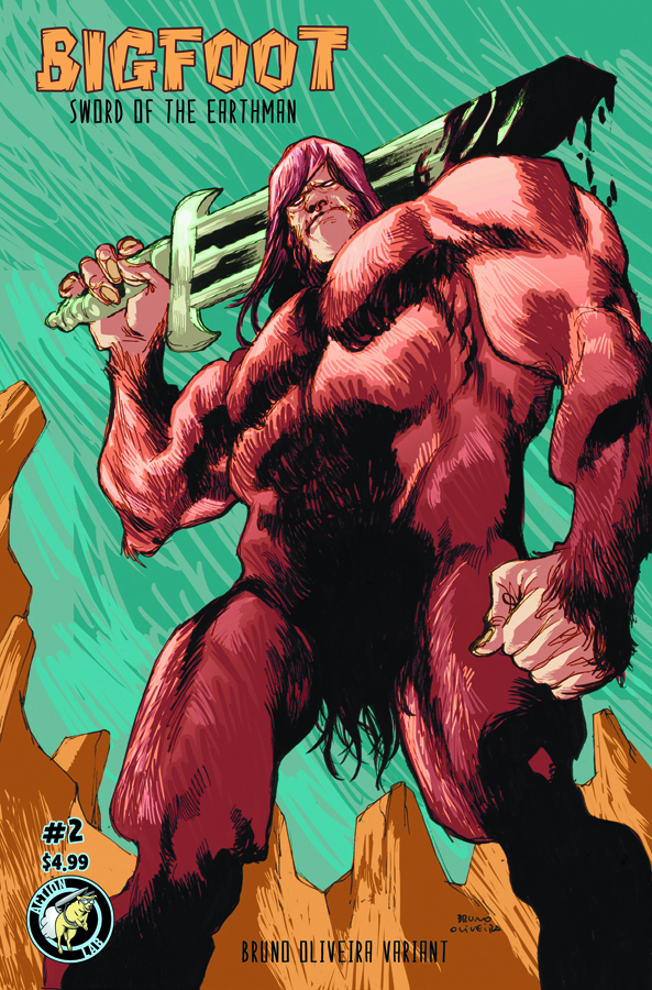 BIGFOOT SWORD OF THE EARTHMAN #2