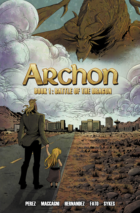 ARCHON TP BOOK 01 BATTLE OF THE DRAGON