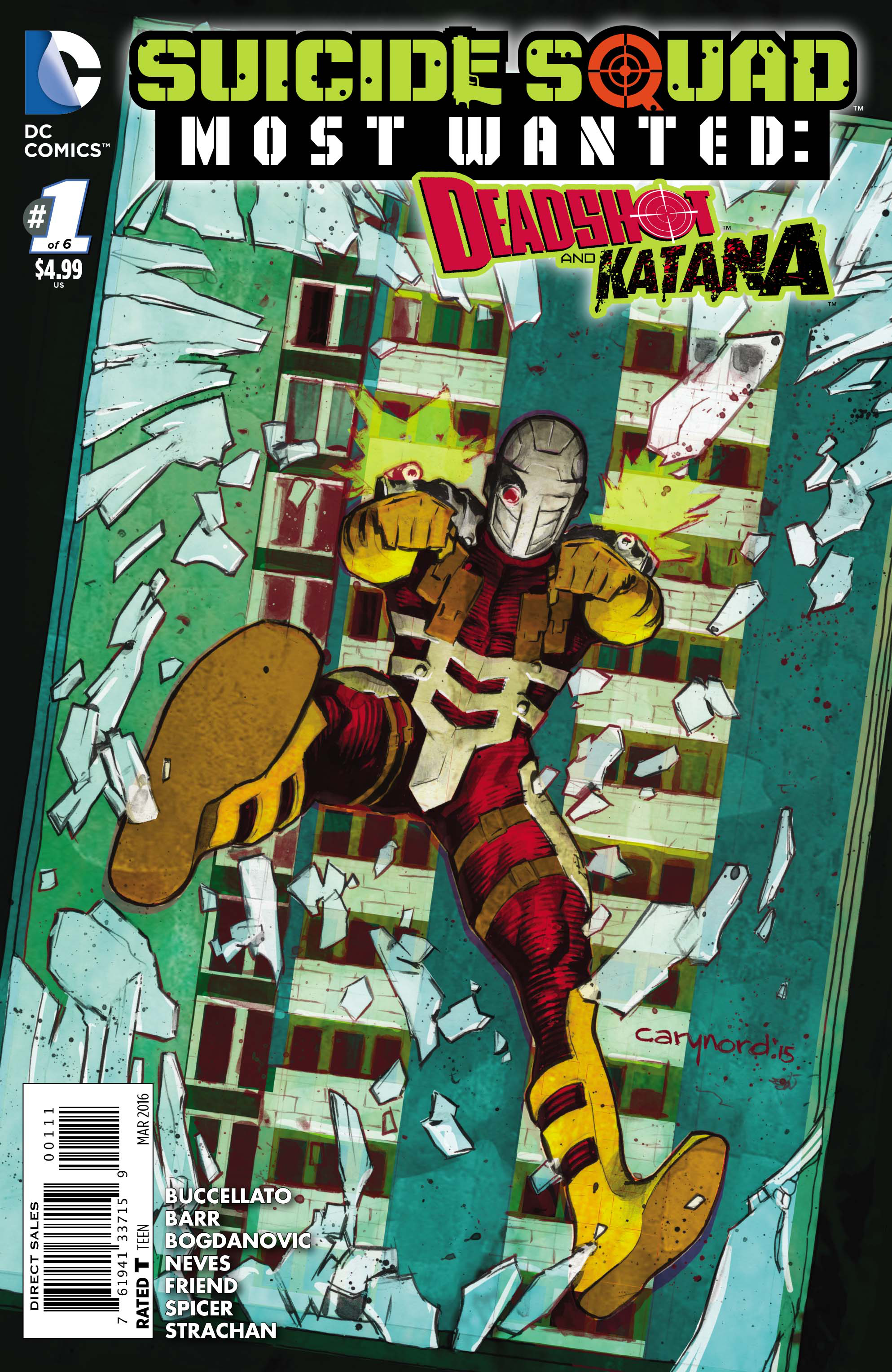 SUICIDE SQUAD MOST WANTED DEADSHOT KATANA #1