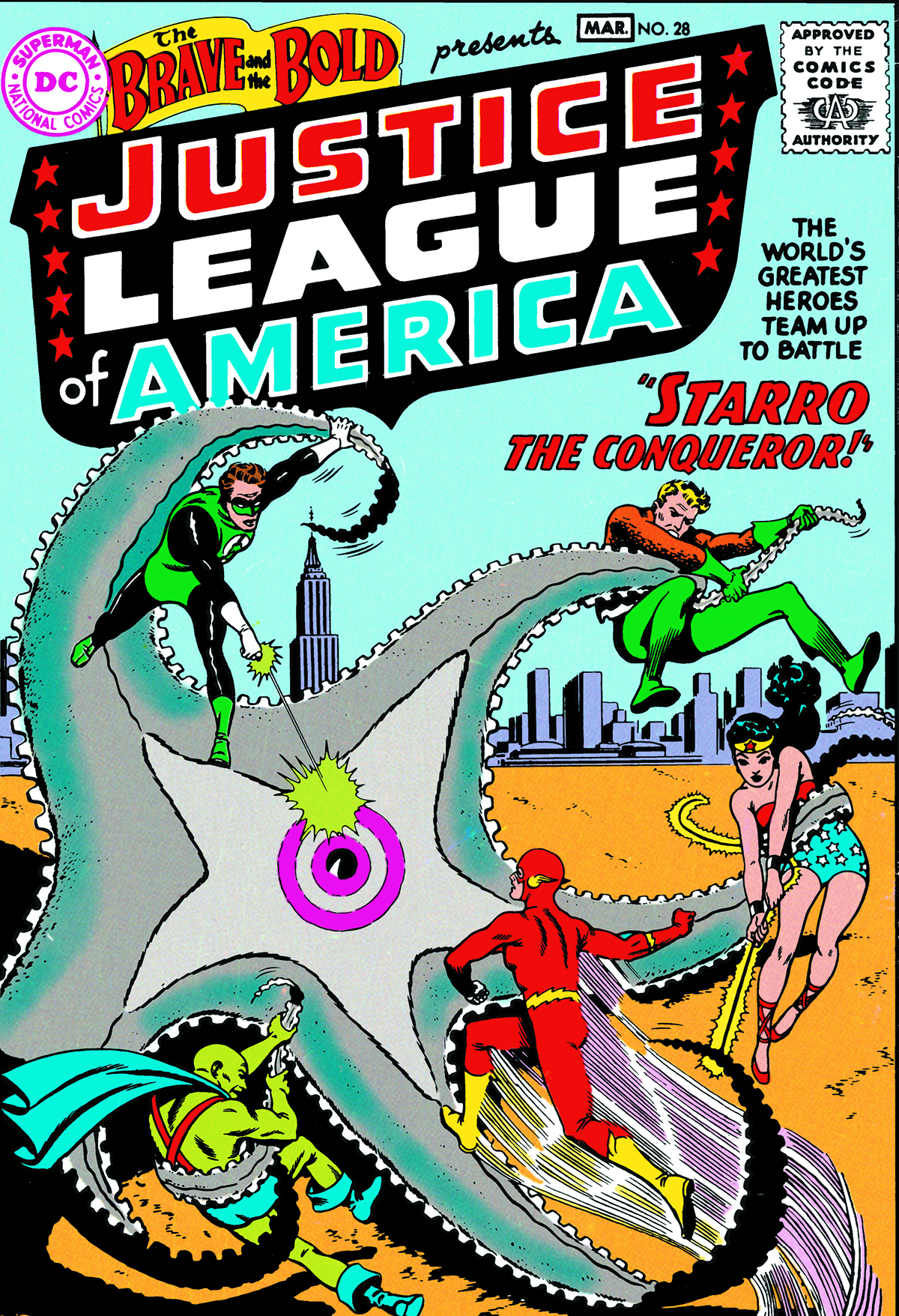 JUSTICE LEAGUE OF AMERICA THE SILVER AGE TP VOL 01