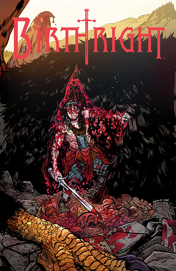 BIRTHRIGHT #13 CVR B JOHNSON & PLASCENCIA