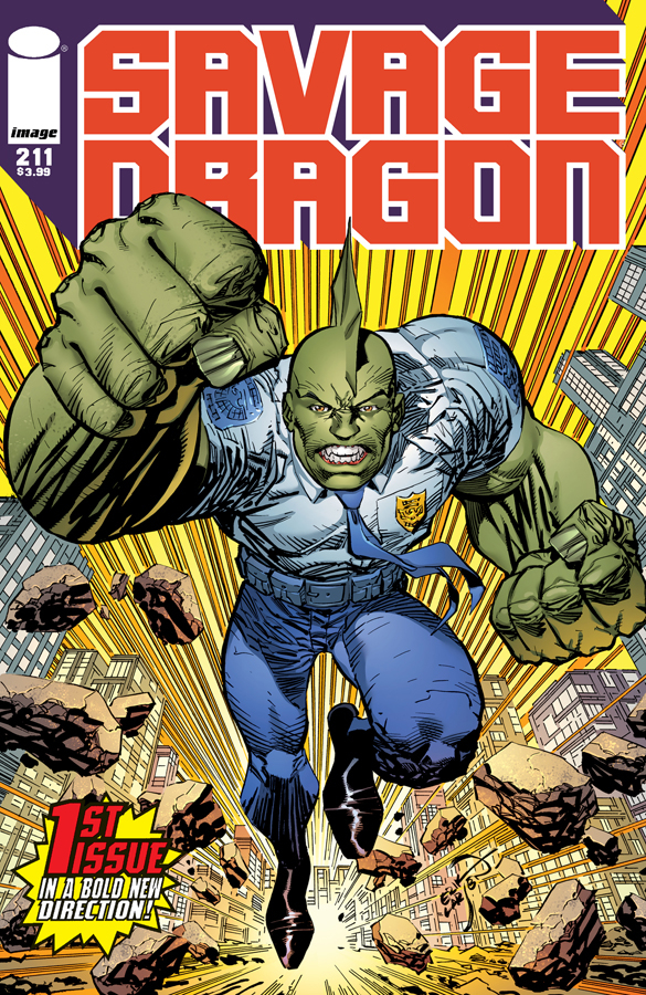 SAVAGE DRAGON #211