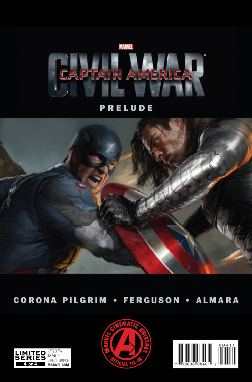 MARVELS CAPTAIN AMERICA CIVIL WAR PRELUDE #4