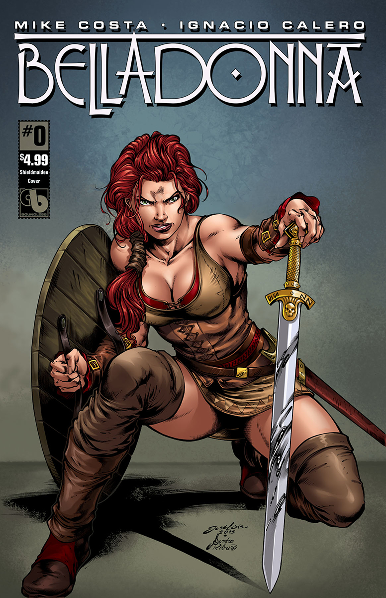 BELLADONNA #0 SHIELD MAIDEN CVR