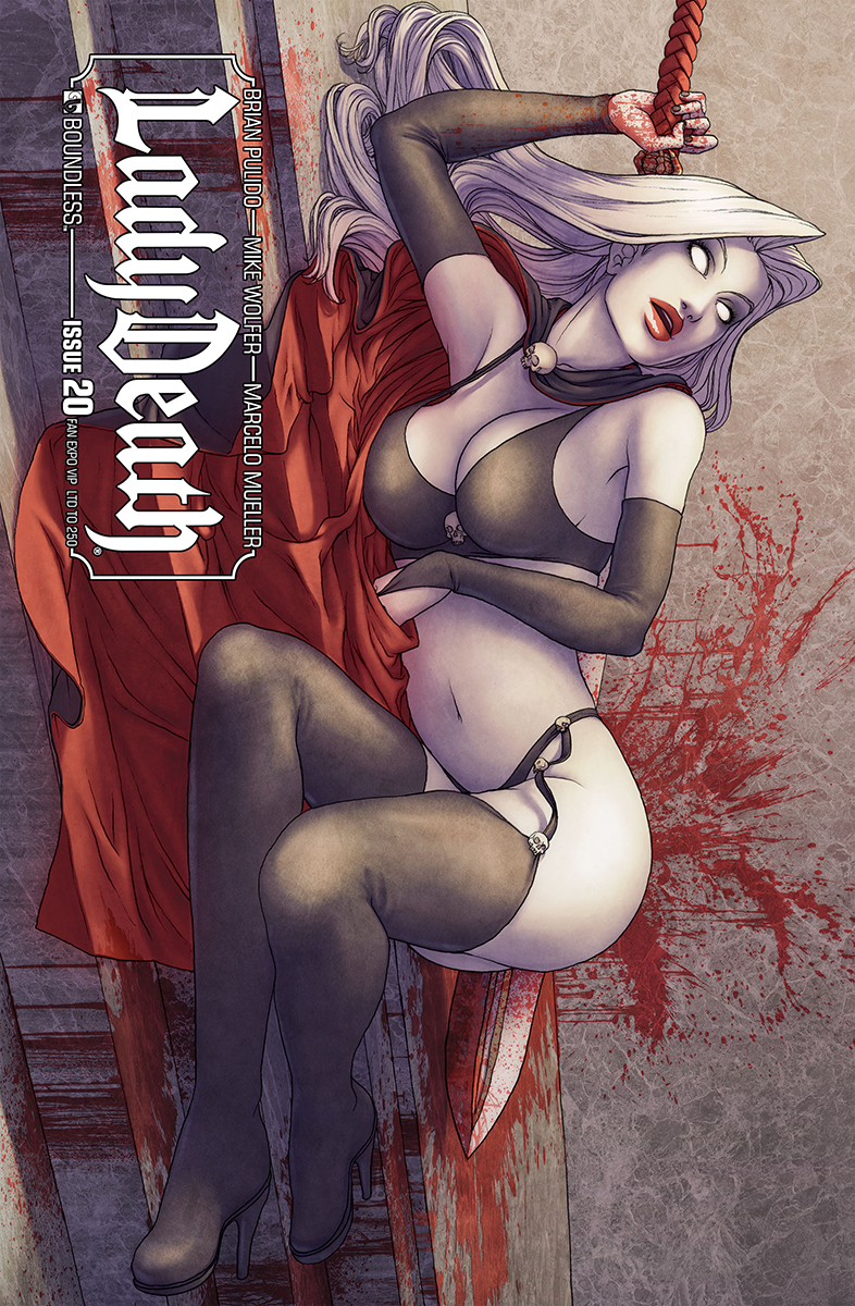 LADY DEATH (ONGOING) #20 FAN EXPO VIP CVR