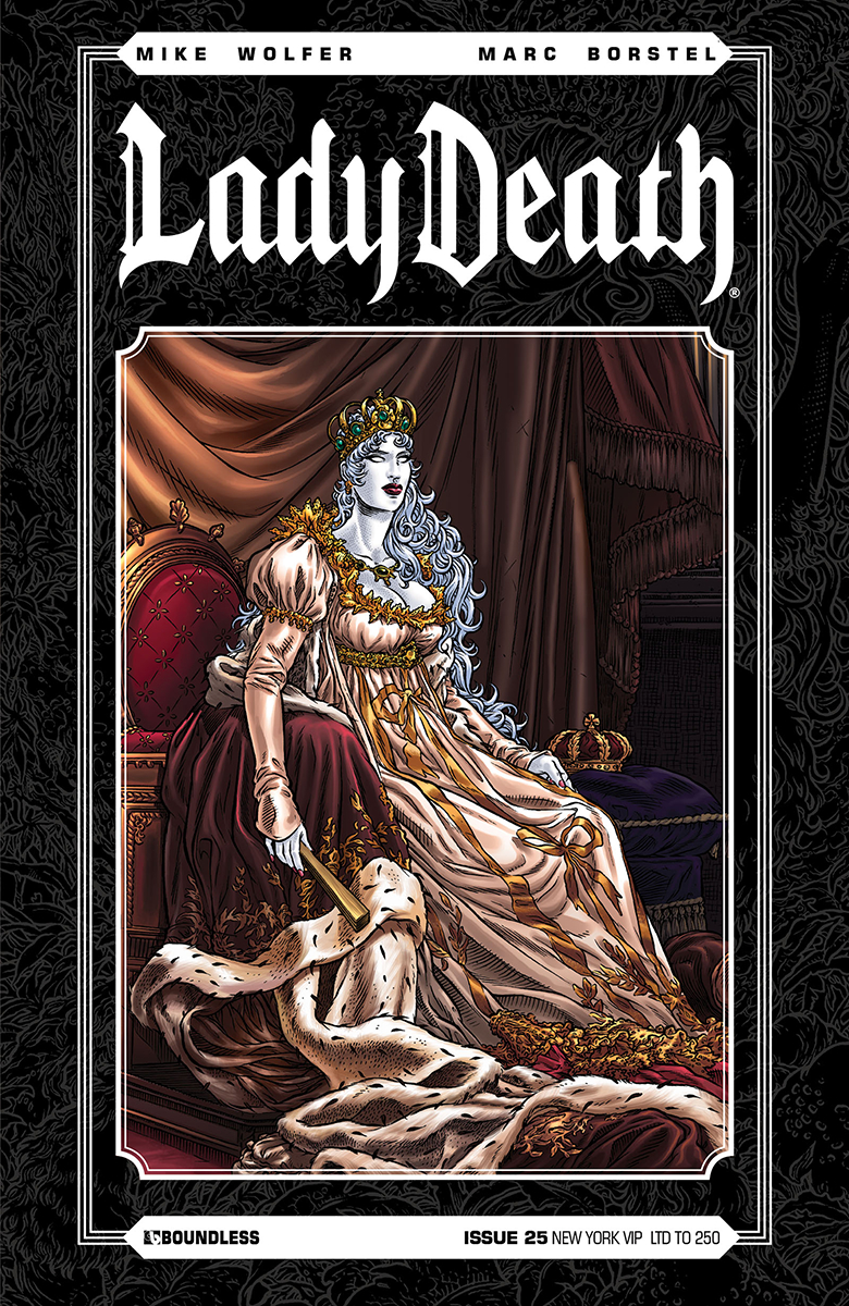 LADY DEATH (ONGOING) #25 NEW YORK VIP CVR