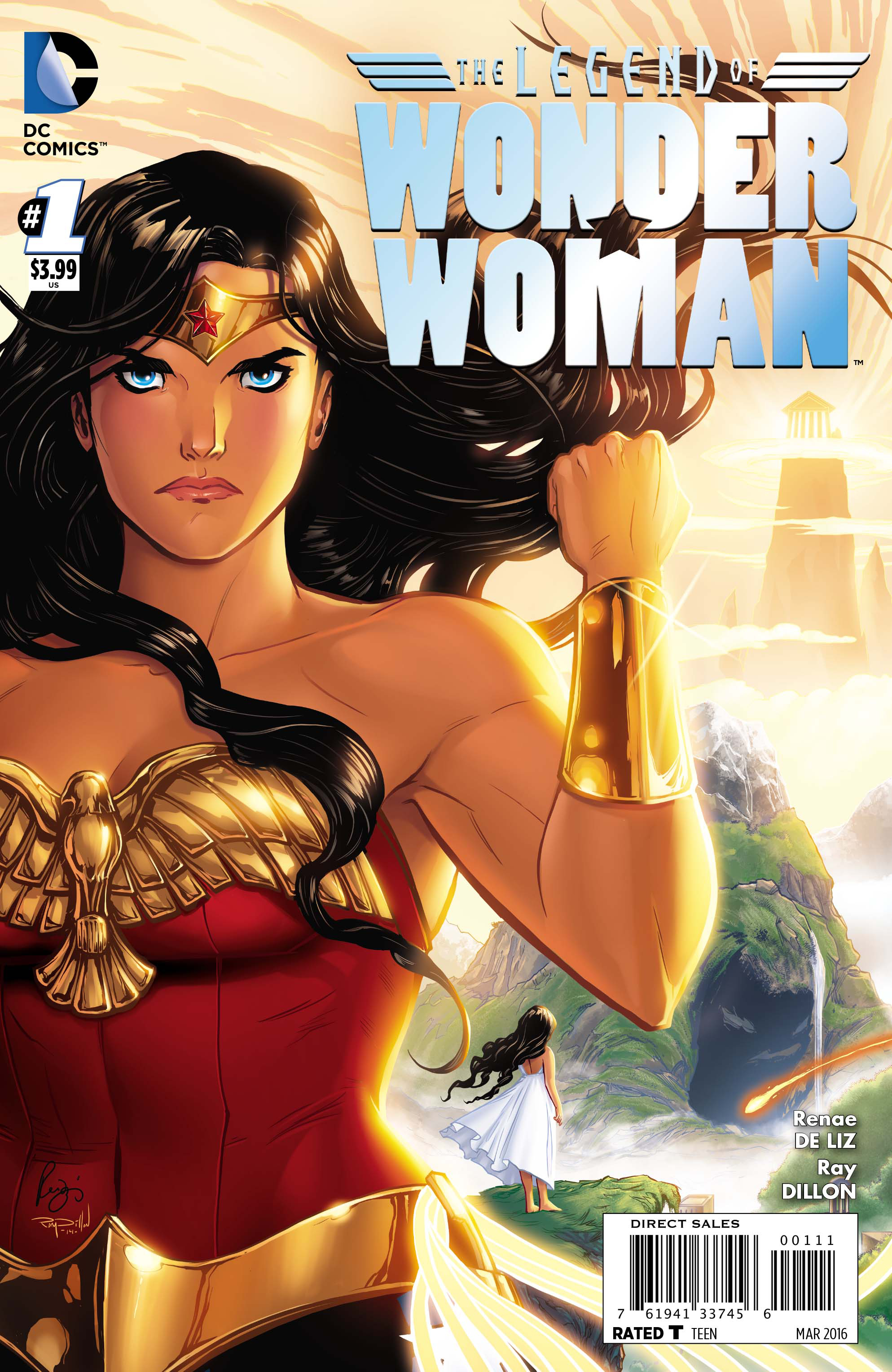 LEGEND OF WONDER WOMAN #1