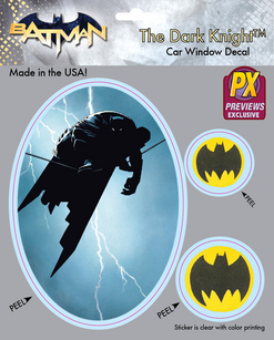 BATMAN DKR DARK KNIGHT HIGHWIRE PX VINYL DECAL