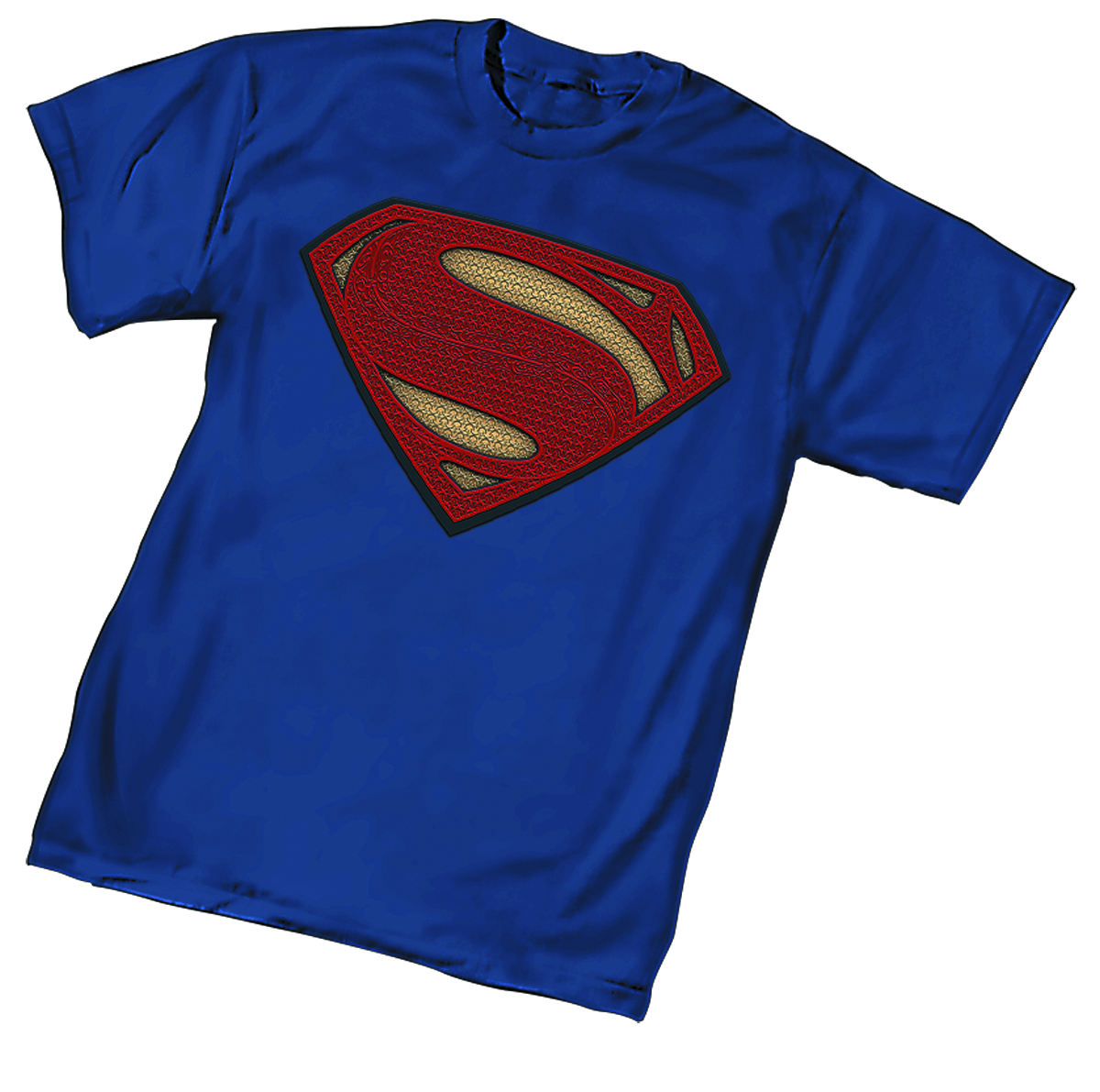 B V S SUPERMAN SYMBOL WOMENS T/S MED