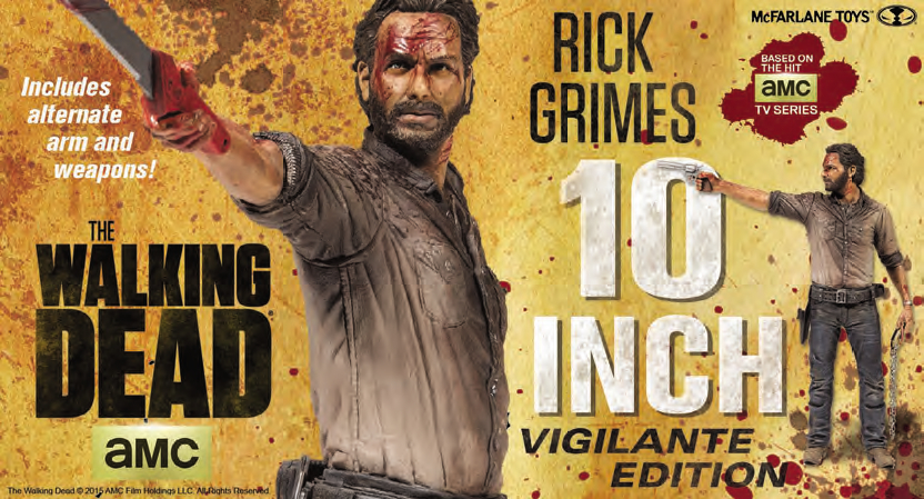 WALKING DEAD TV GRIMES 10IN VIG ED DLX AF CS