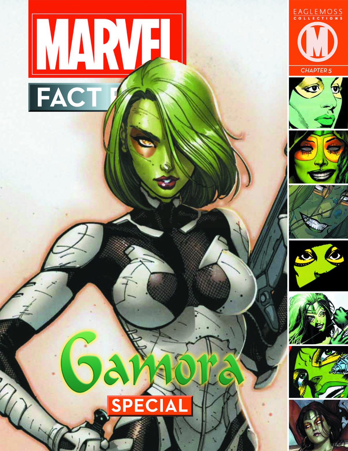 MARVEL FACT FILES COSMIC SPECIAL #4 GAMORA