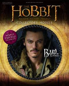 HOBBIT MOTION PICTURE FIG MAG #9 BARD THE BOWMAN
