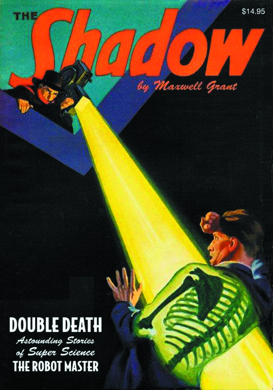 SHADOW DOUBLE NOVEL VOL 104 DOUBLE DEATH & ROBOT MASTER