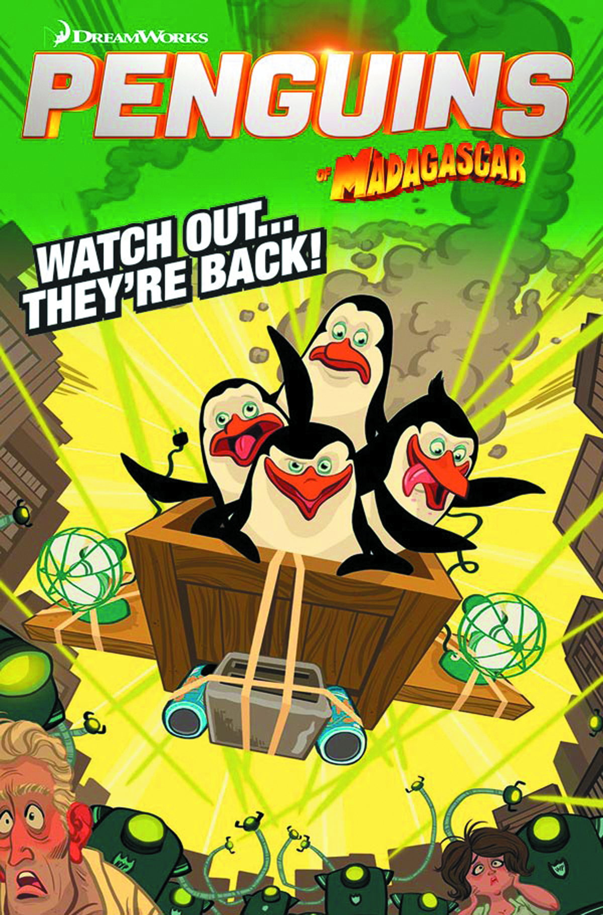 PENGUINS OF MADAGASCAR ELITEST OF ELITE #1