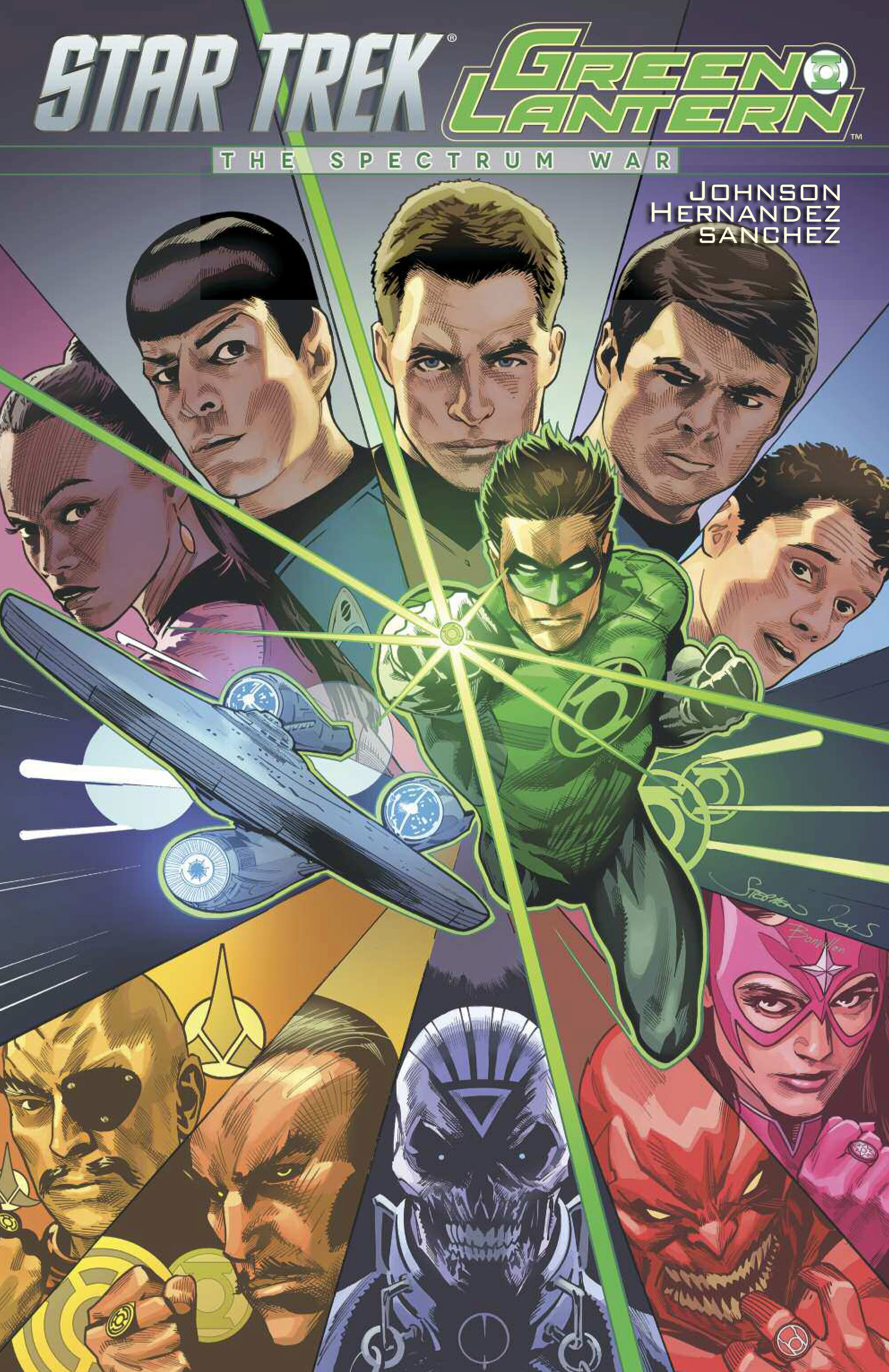 STAR TREK GREEN LANTERN TP SPECTRUM WAR