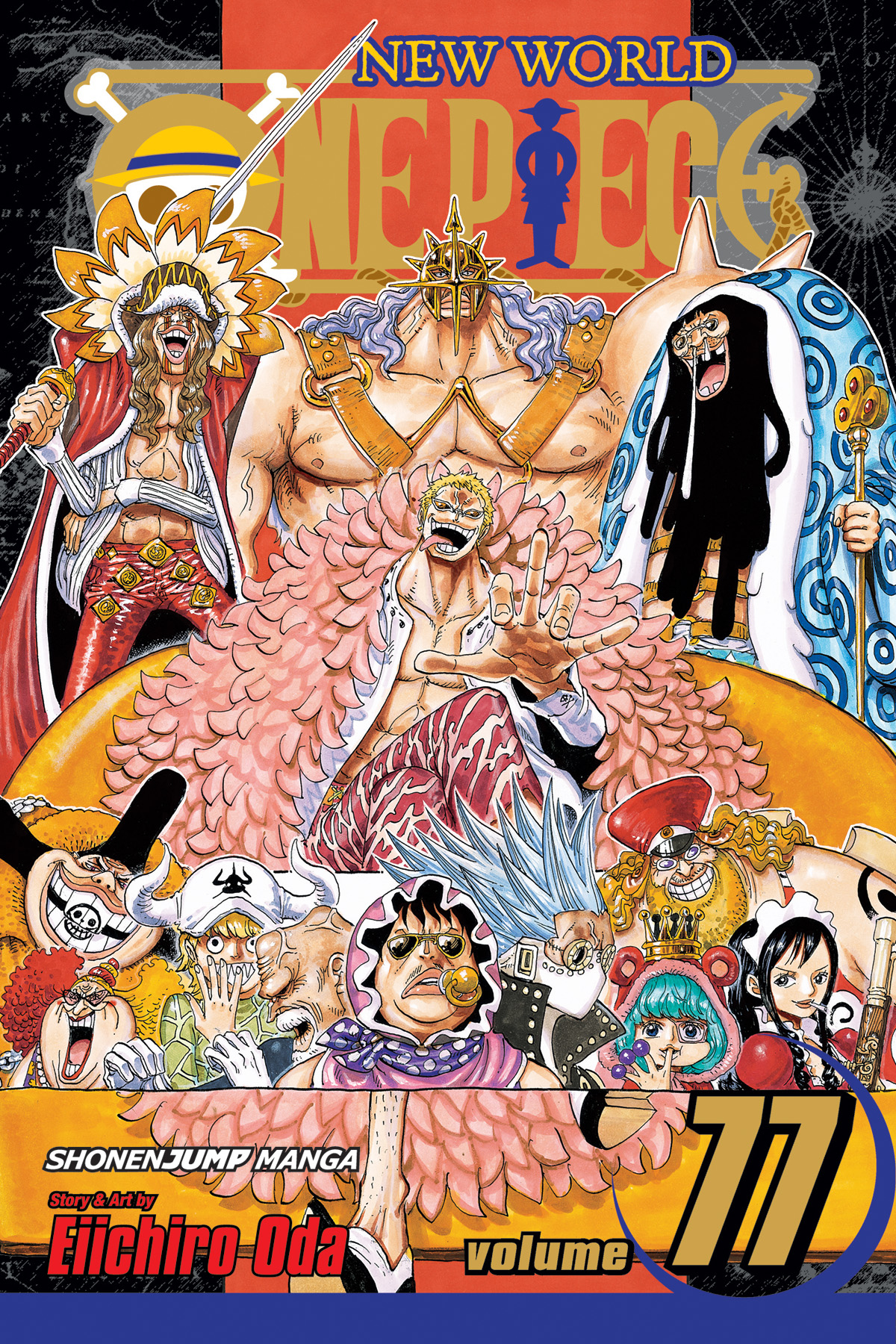 ONE PIECE GN VOL 77