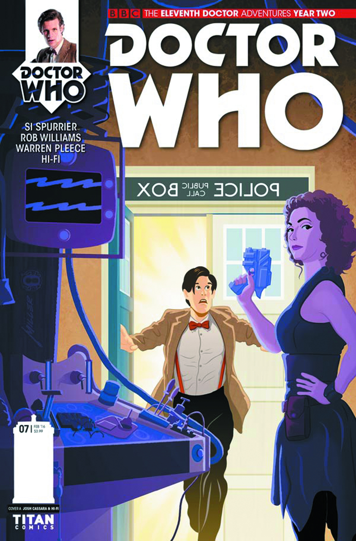 DOCTOR WHO 11TH YEAR TWO #7 CVR A MILLER