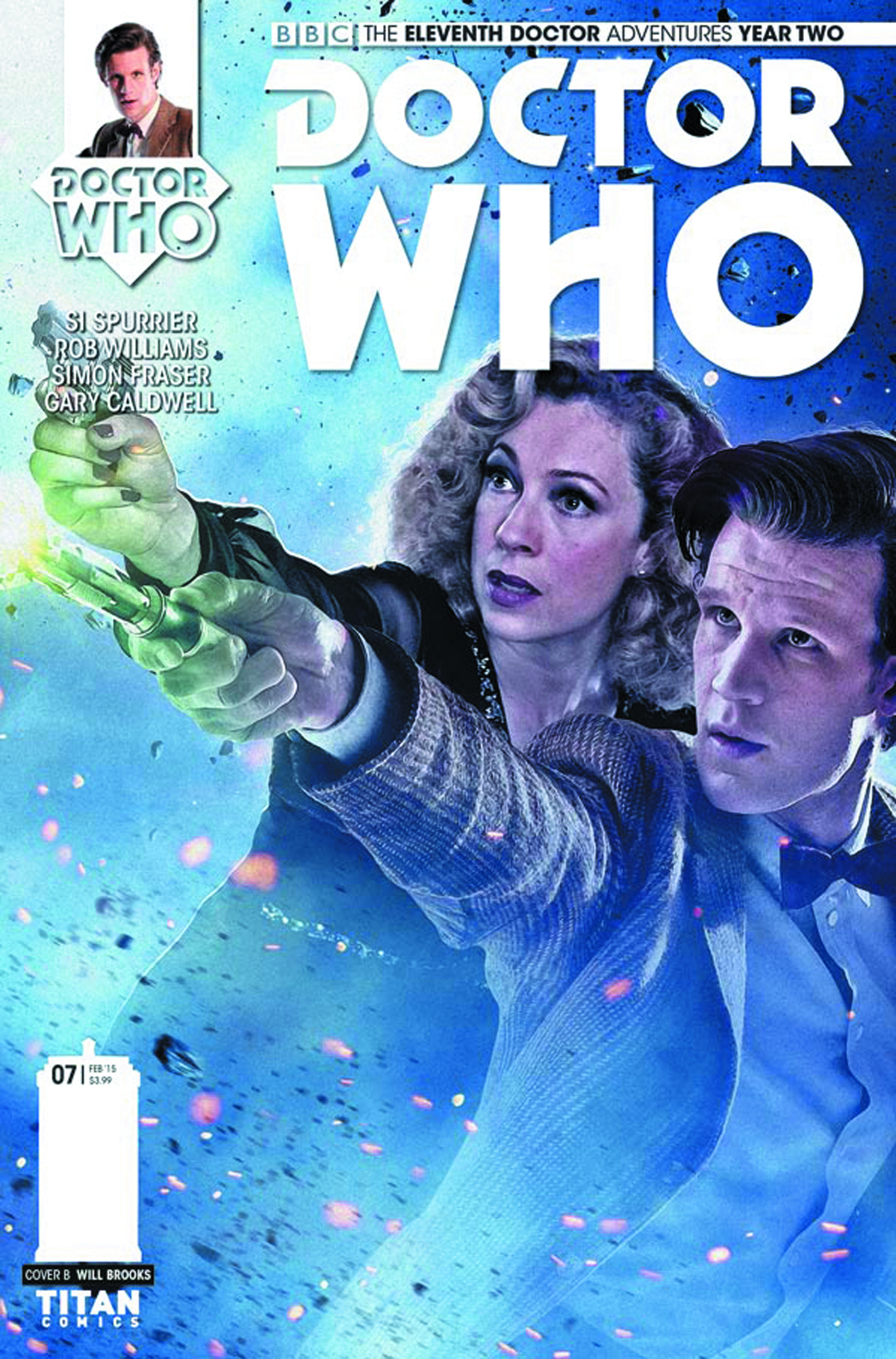 DOCTOR WHO 11TH YEAR TWO #7 CVR B PHOTO