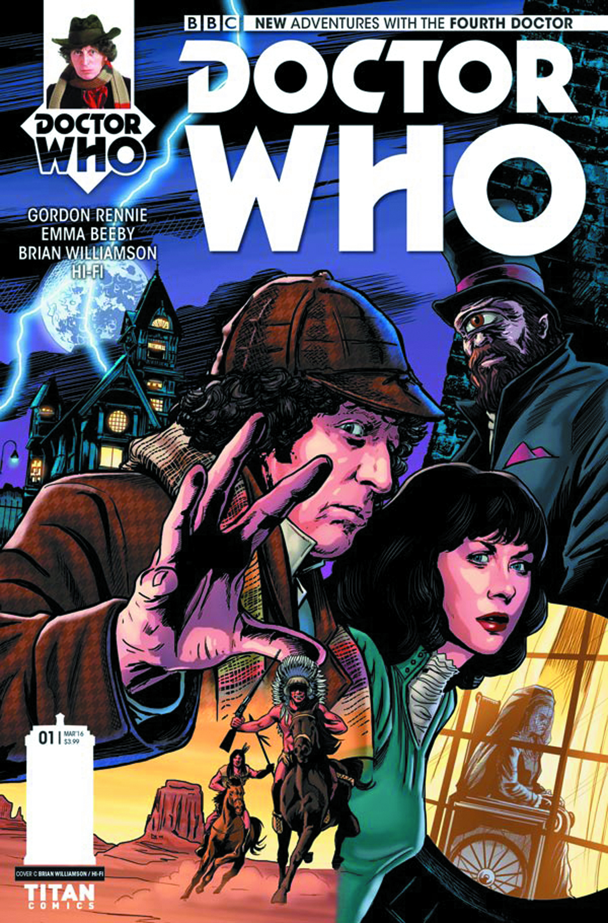 DOCTOR WHO 4TH #1