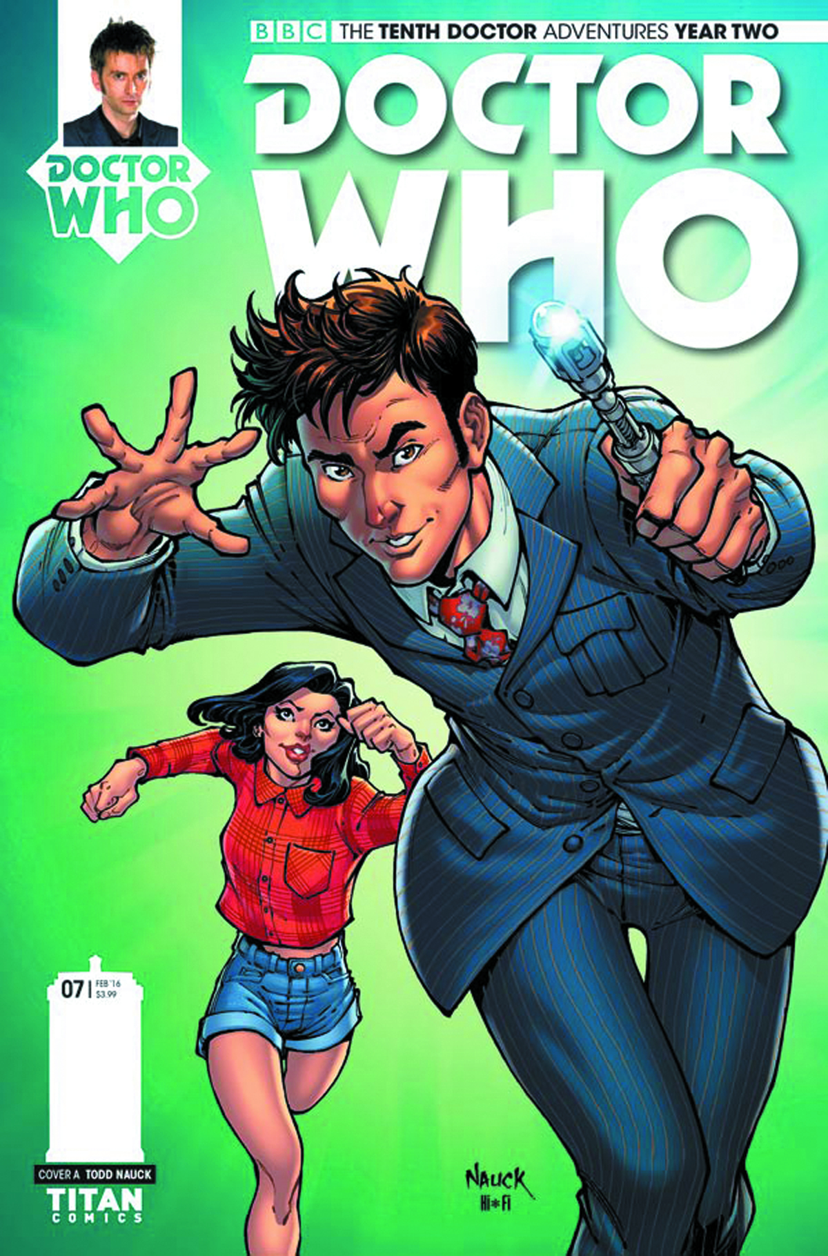 DOCTOR WHO 10TH YEAR TWO #7 CVR A NAUCK