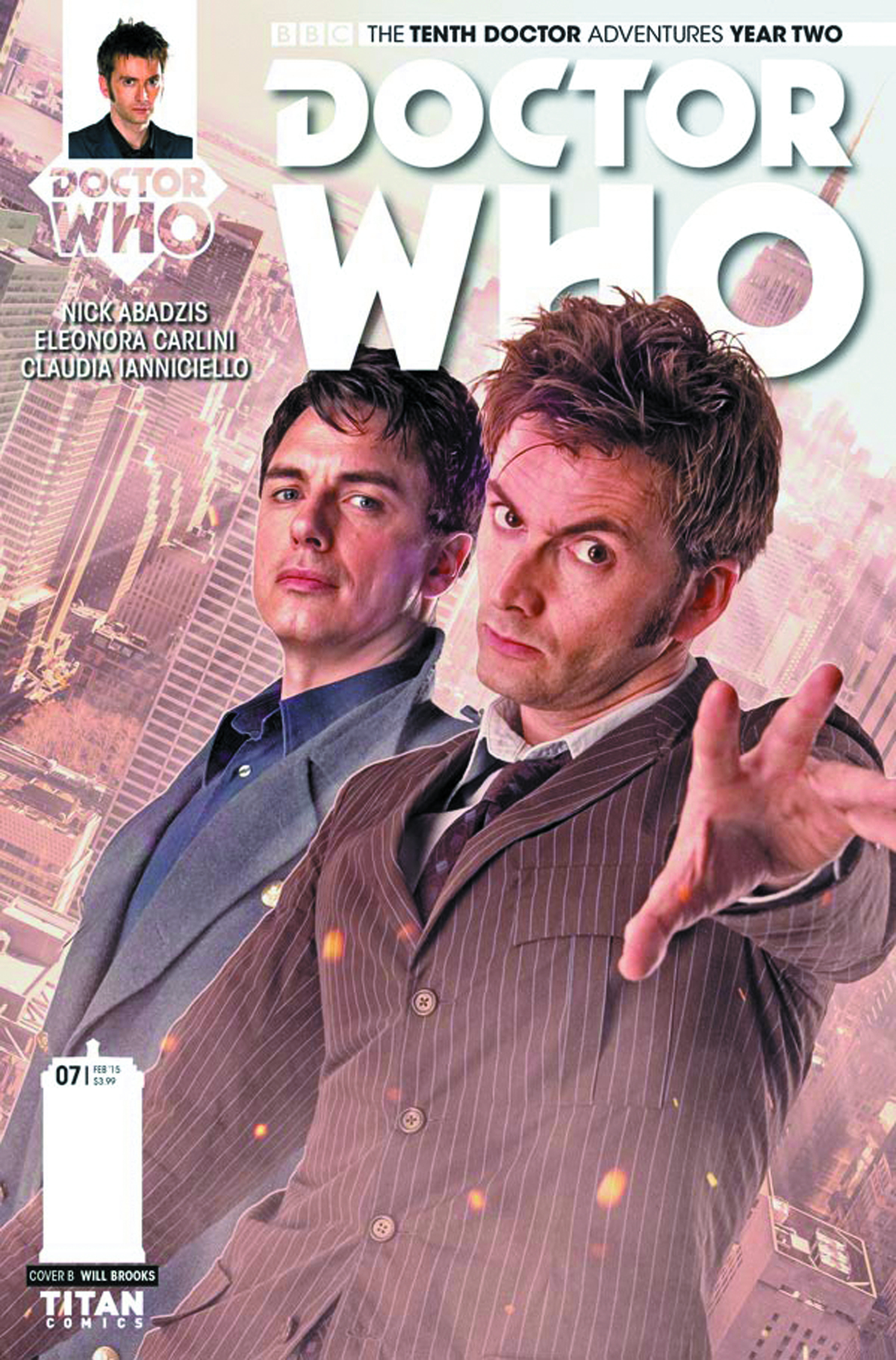 DOCTOR WHO 10TH YEAR TWO #7 CVR B PHOTO