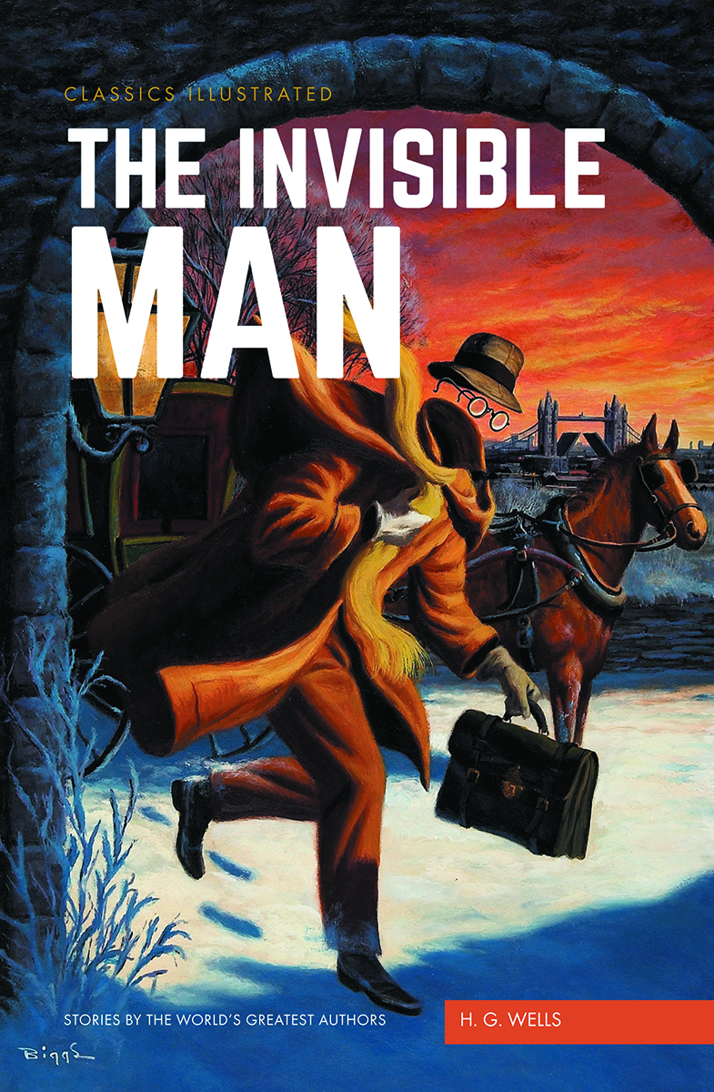 CLASSIC ILLUSTRATED TP INVISIBLE MAN