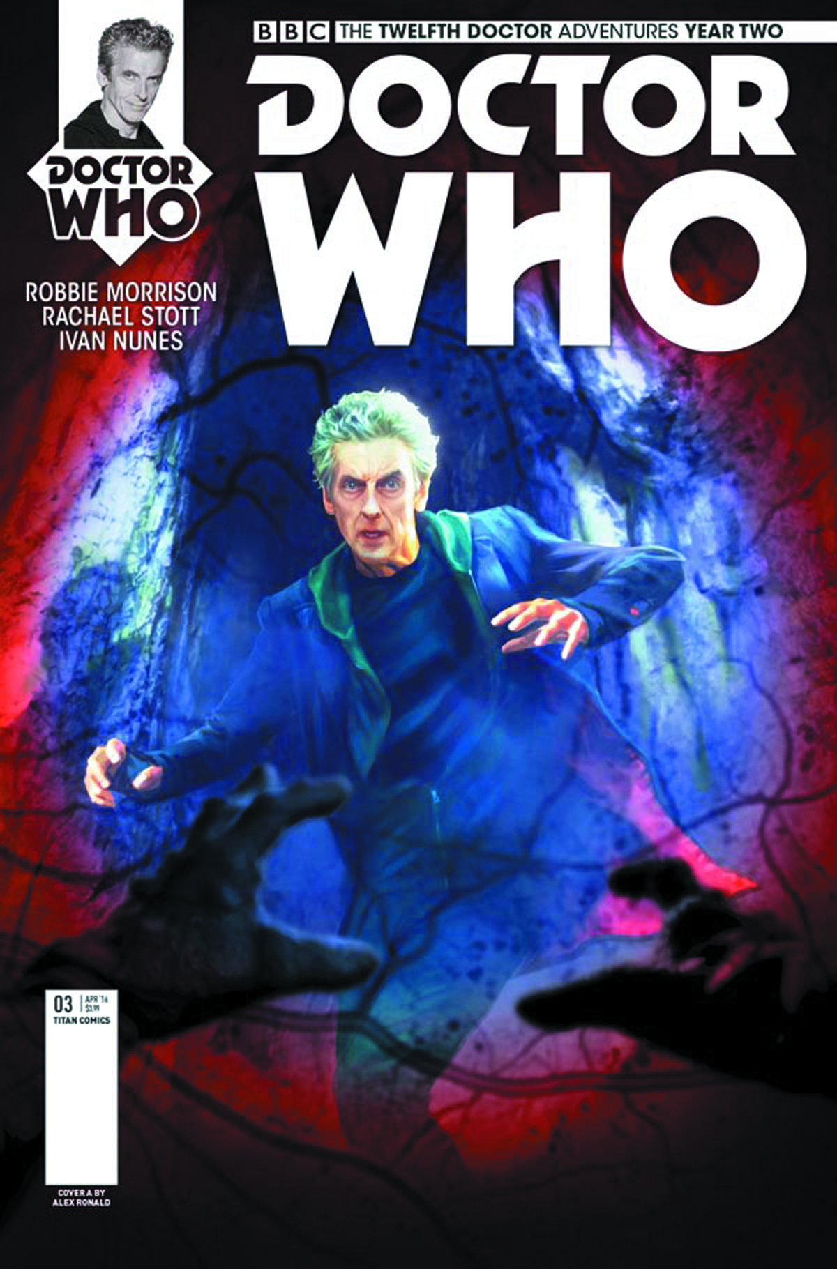 DOCTOR WHO 12TH YEAR TWO #3 CVR A RONALD