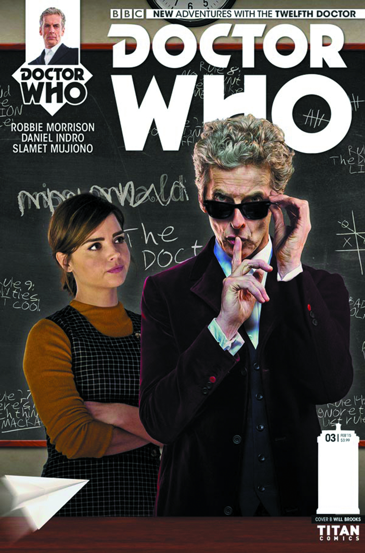 DOCTOR WHO 12TH YEAR TWO #3 CVR B PHOTO