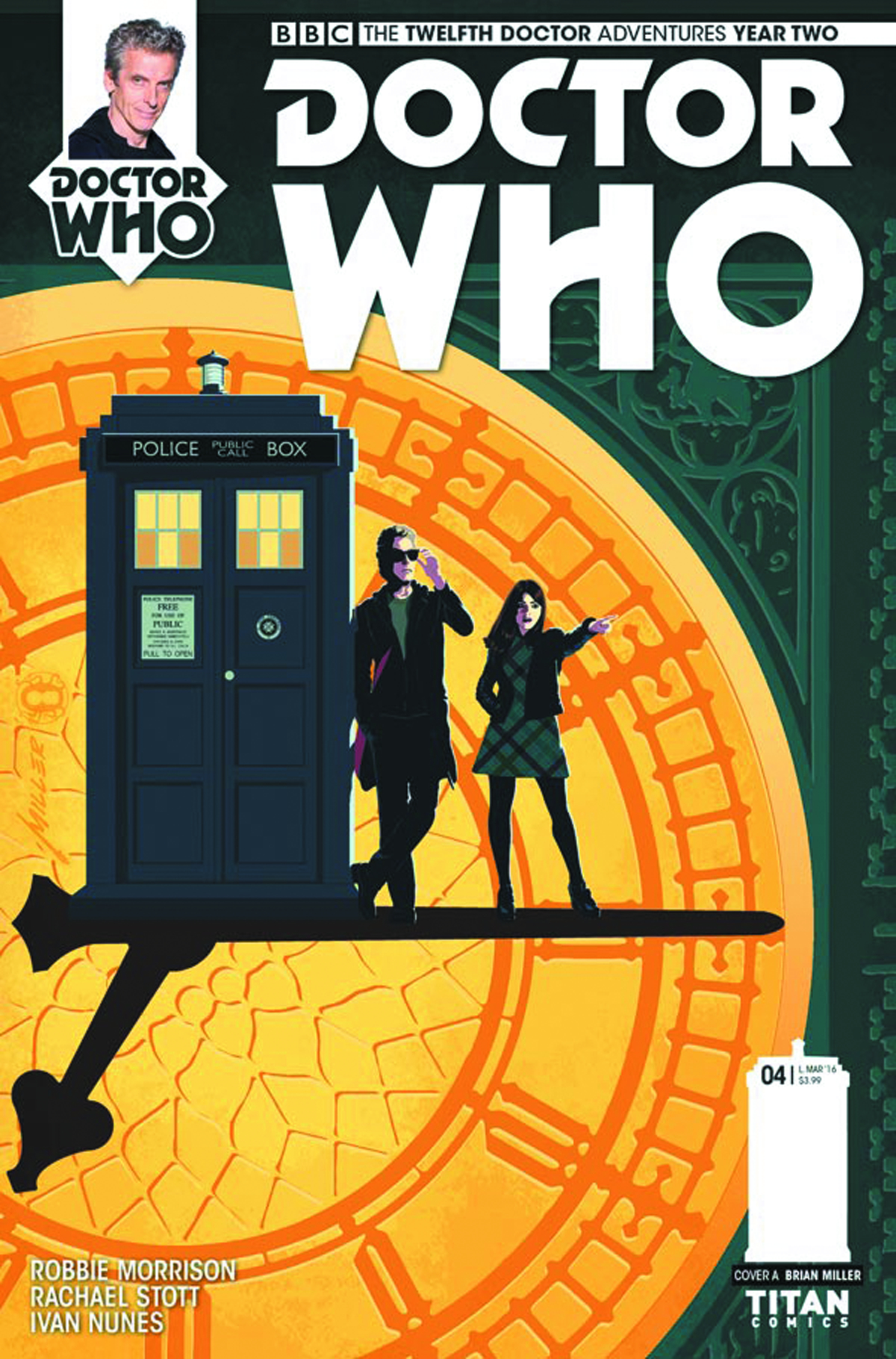 DOCTOR WHO 12TH YEAR TWO #4 CVR A MILLER