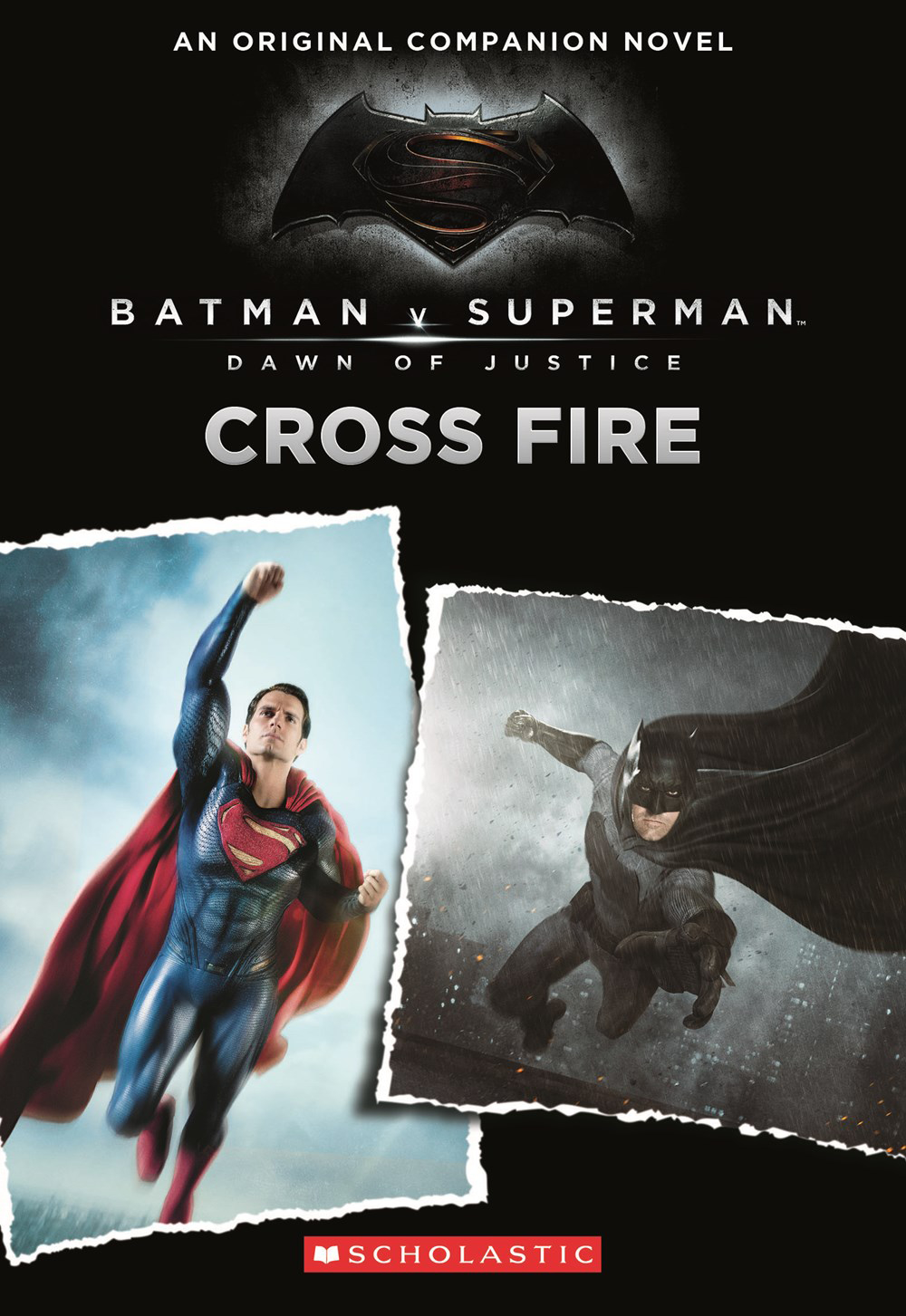 BATMAN VS SUPERMAN DOJ PREQUEL YA NOVEL CROSS FIRE
