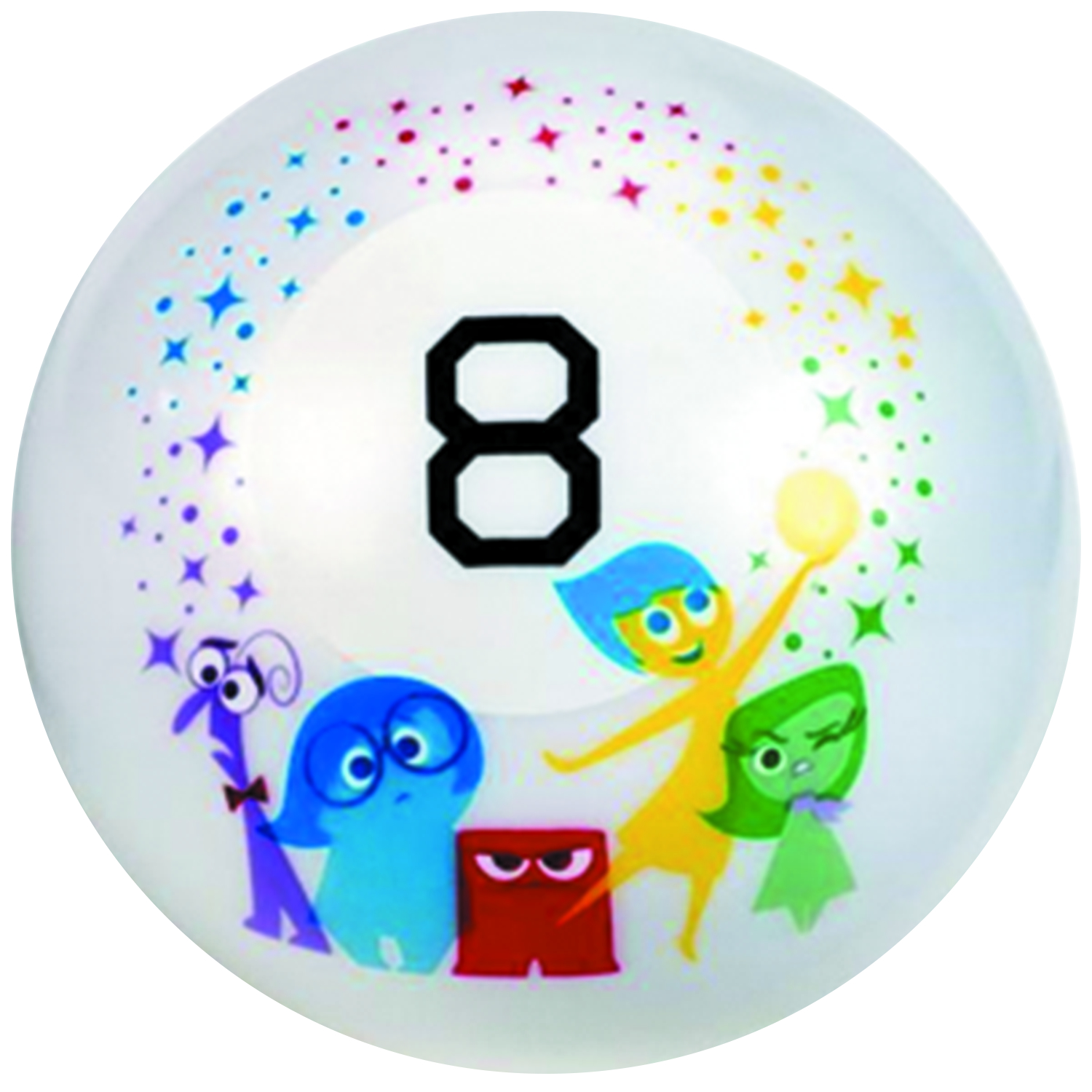 PIXAR INSIDE OUT MAGIC 8-BALL