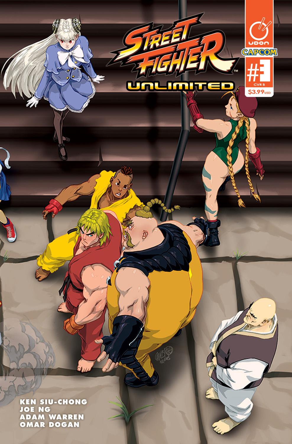 STREET FIGHTER UNLIMITED #3 CVR B CRUZ ULTRA JAM