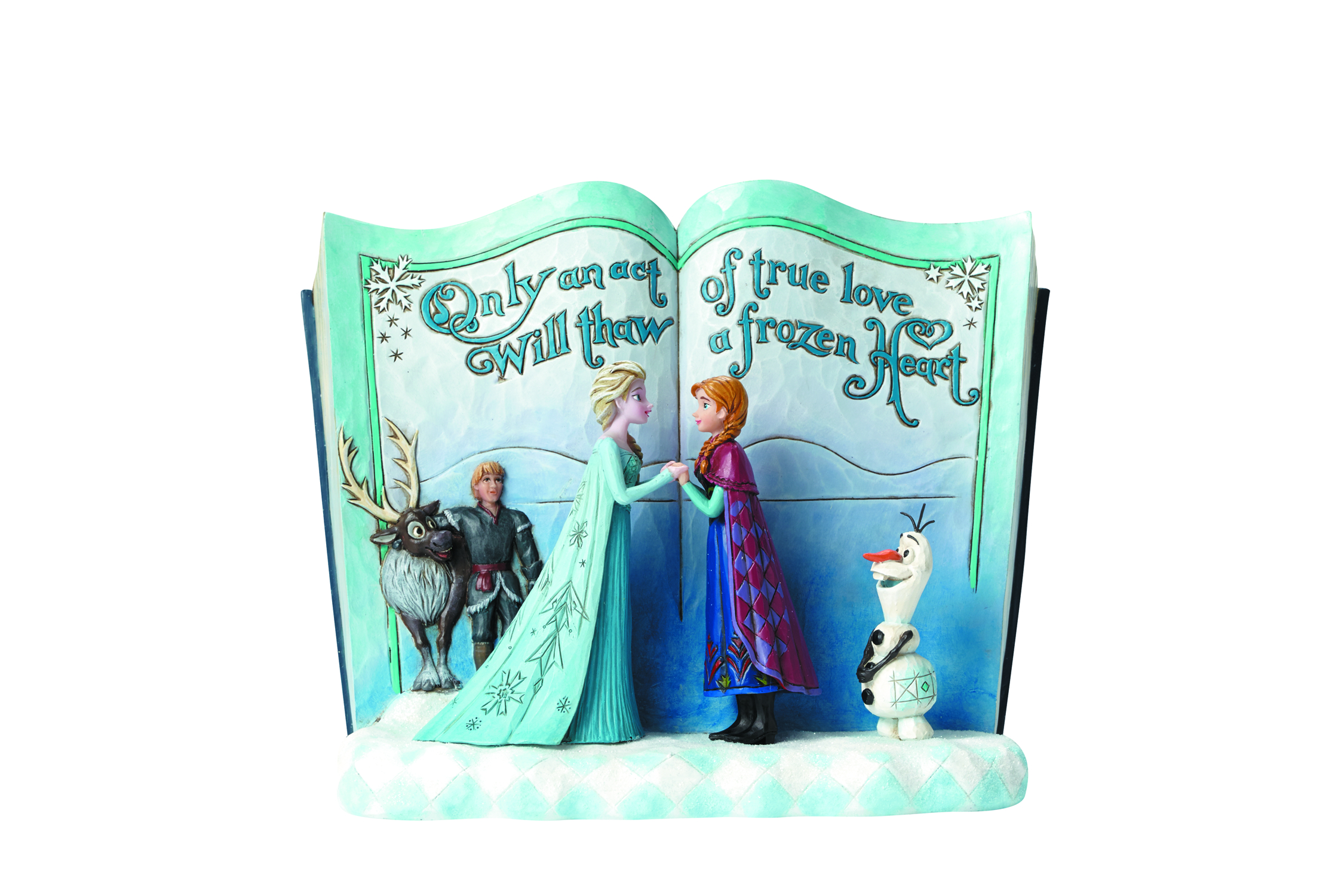 DISNEY TRADITIONS FROZEN STORYBOOK FIG