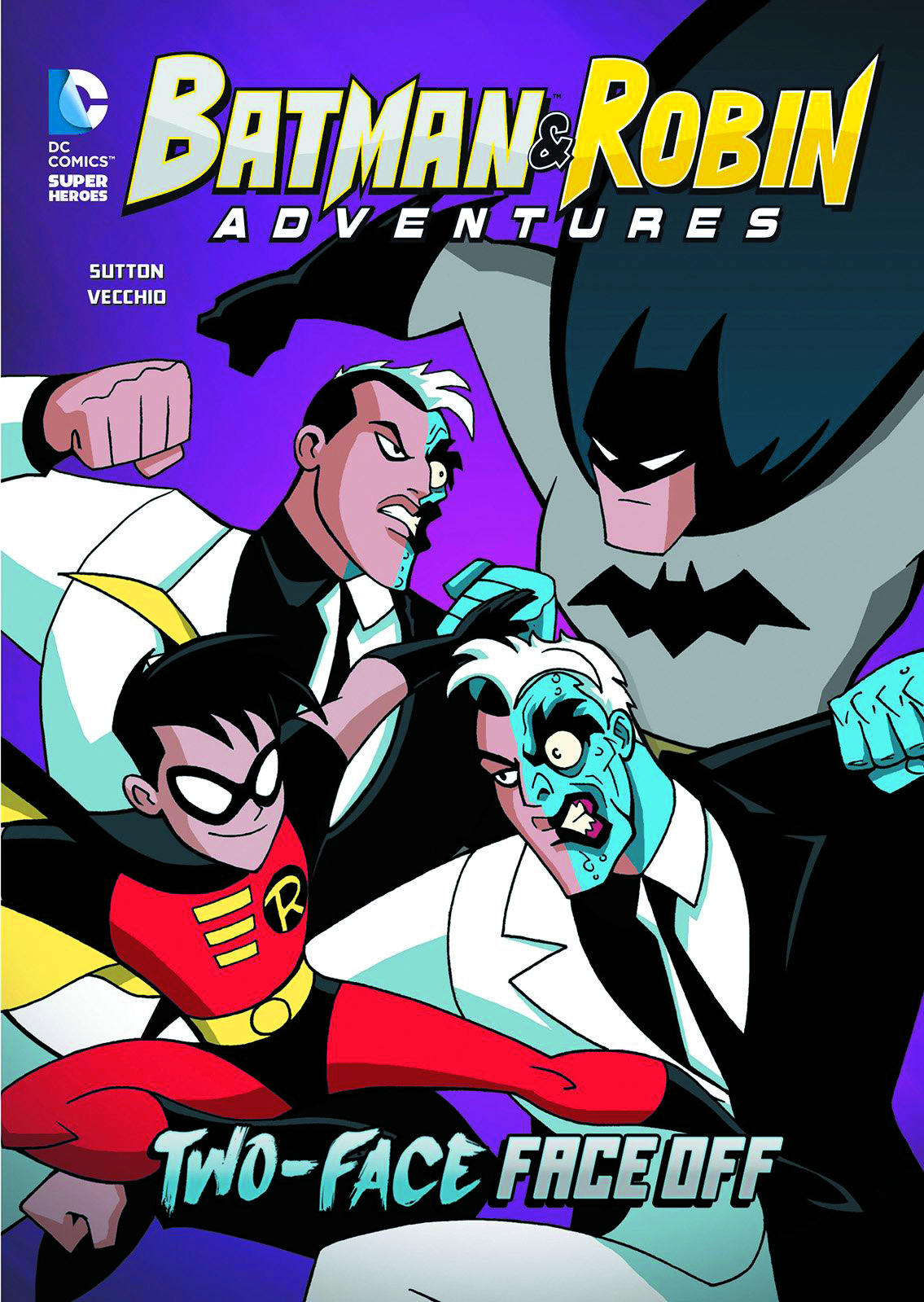 BATMAN & ROBIN ADV YR TP TWO FACE FACE OFF