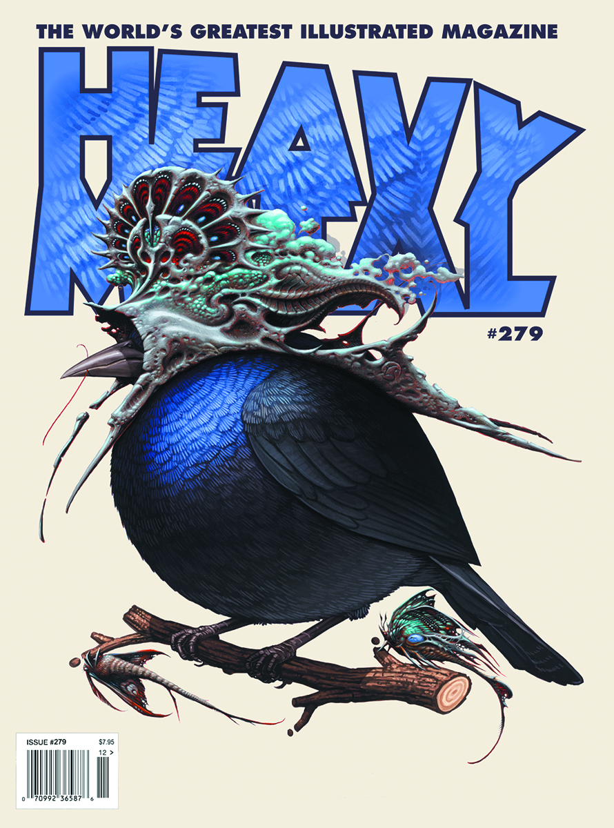 HEAVY METAL #279 COVER A MITCHELL & HORKEY