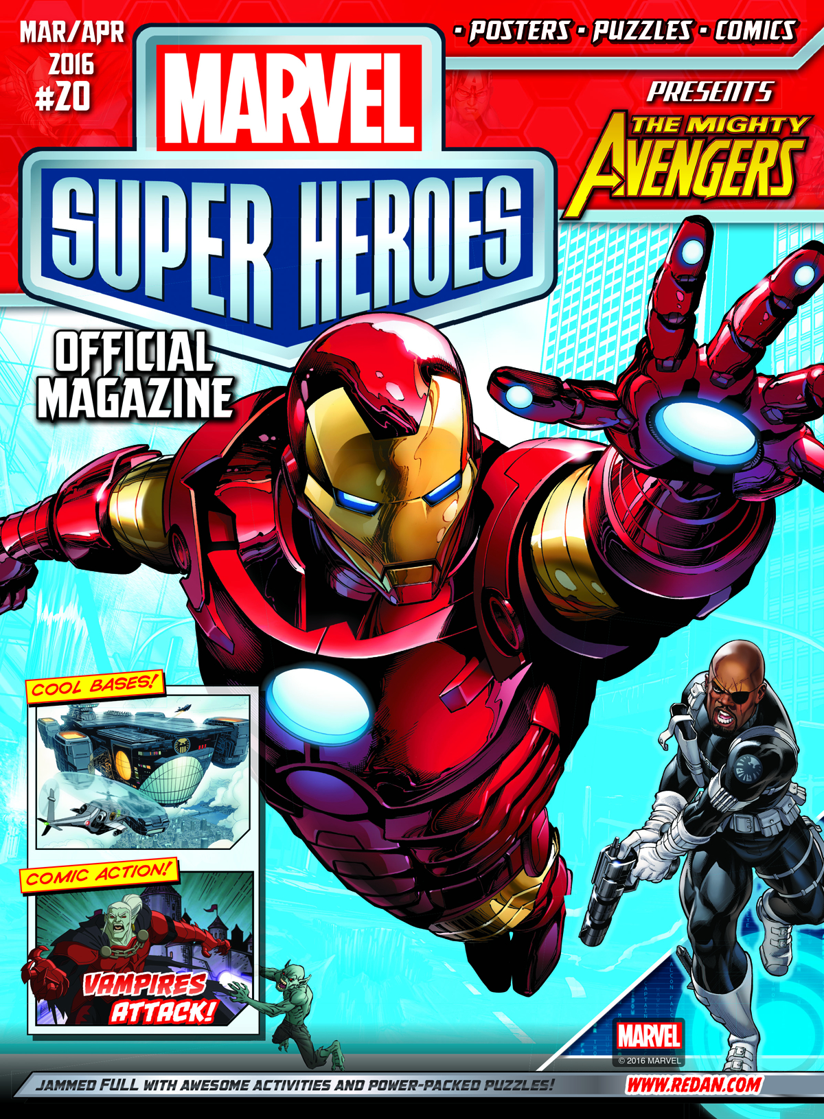 MARVEL SUPER HEROES MAGAZINE #20