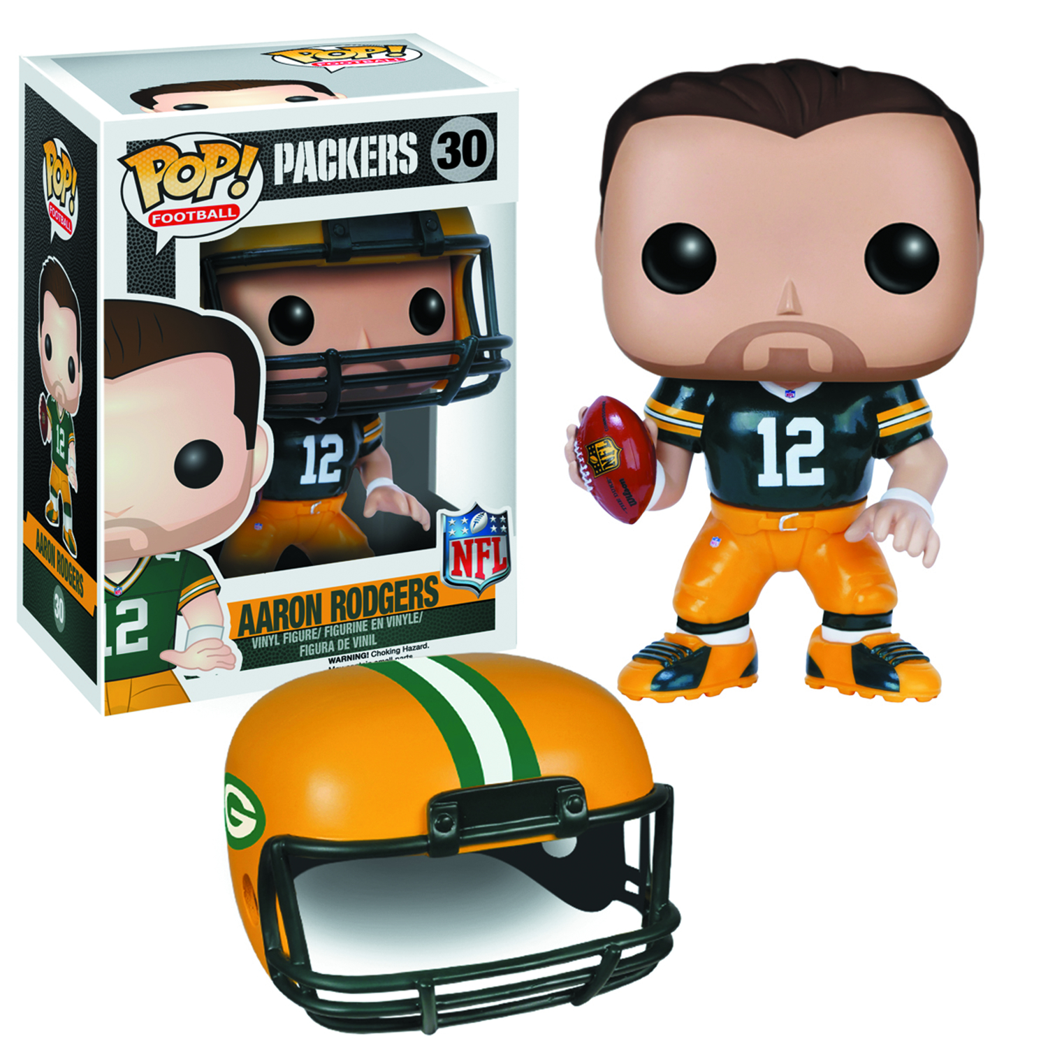 POP NFL AARON RODGERS VER 2 VINYL FIG