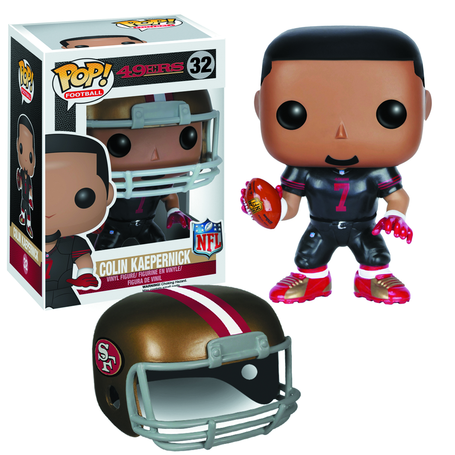 POP NFL COLIN KAEPERNICK VER 2 VINYL FIG