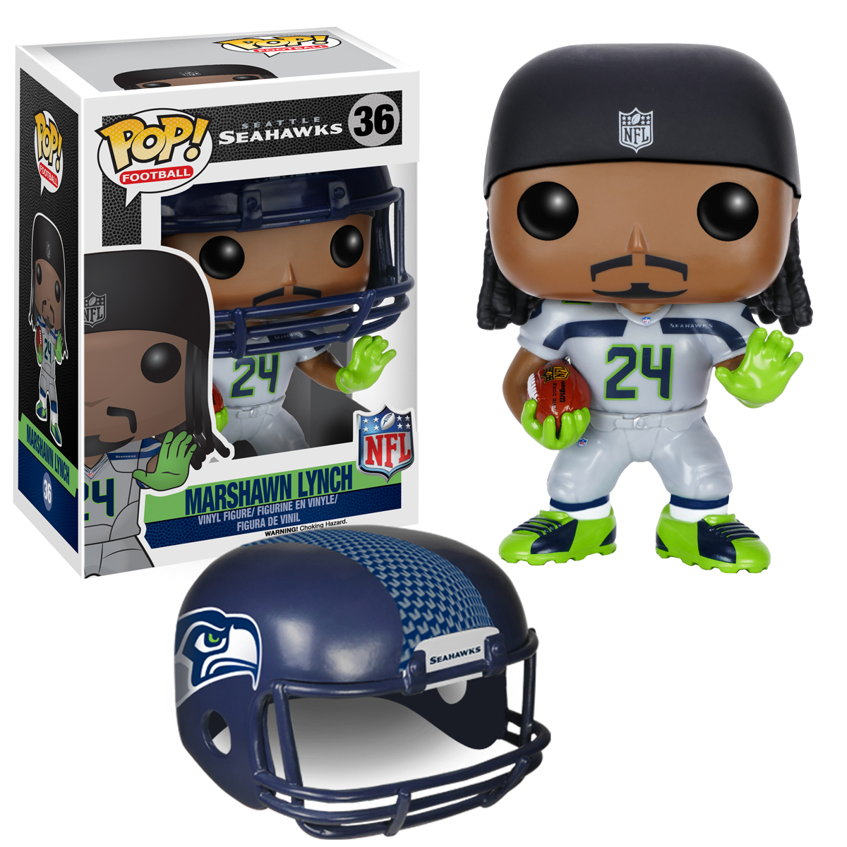 POP NFL MARSHAWN LYNCH VER 2 VINYL FIG