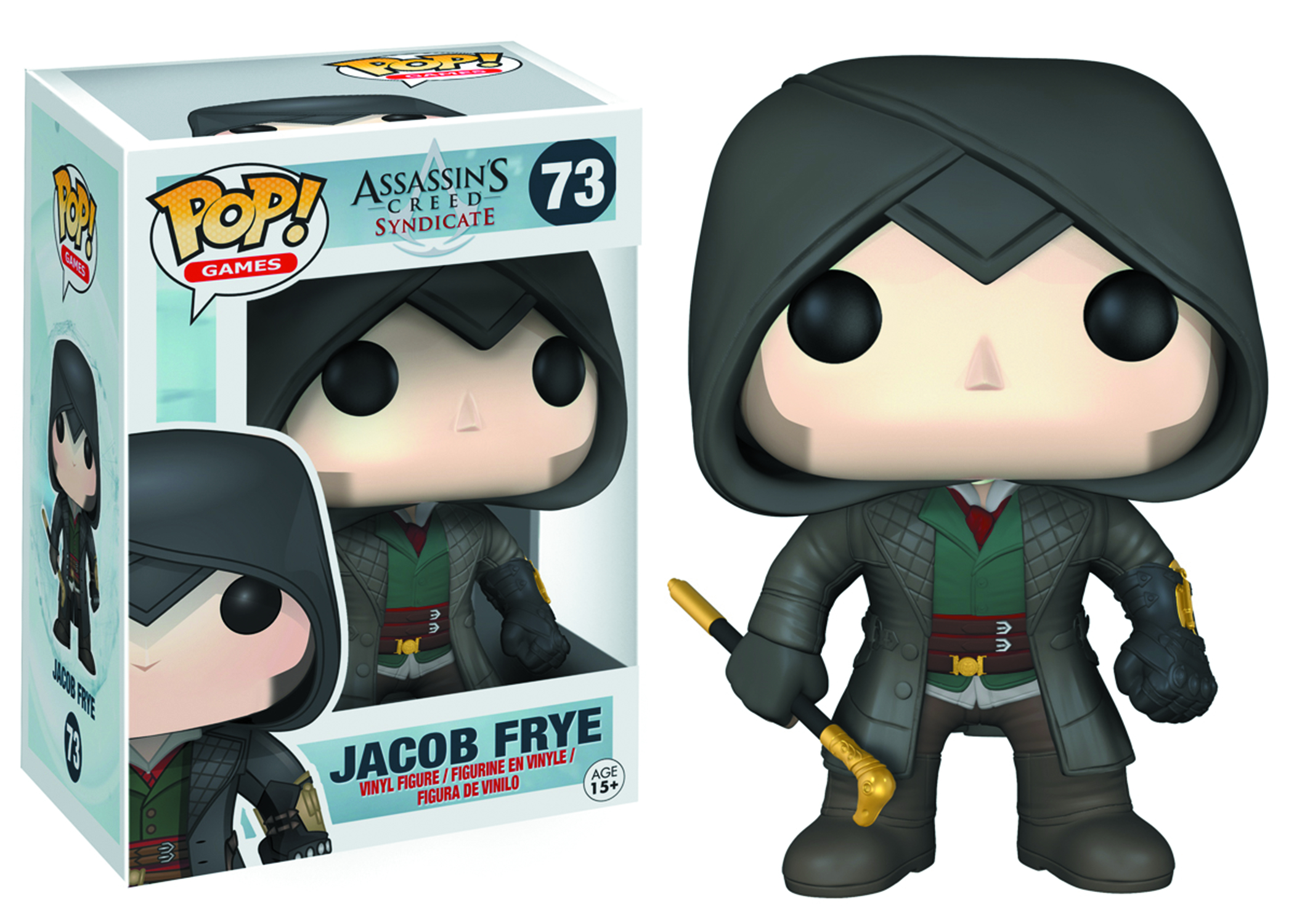 POP ASSASSINS CREED JACOB FRYE VINYL FIG